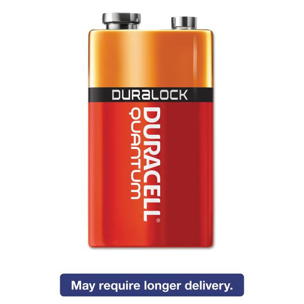 Duracell Quantum 9 Volt Batteries with Duralock Power Preserve Technology