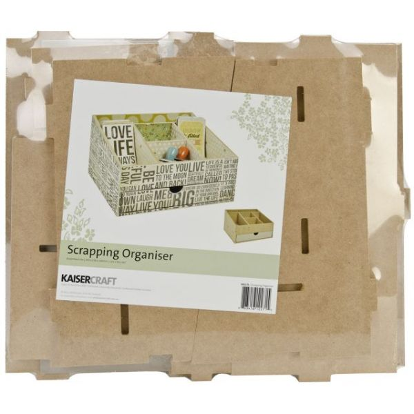 Beyond The Page MDF Scrapping Organizer