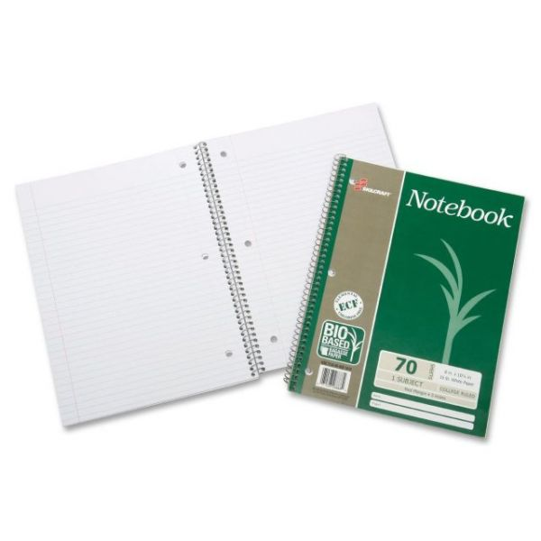 SKILCRAFT Single-Subject Wirebound Notebooks
