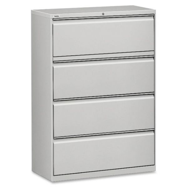 Lorell 4 Drawer Lateral File Cabinet