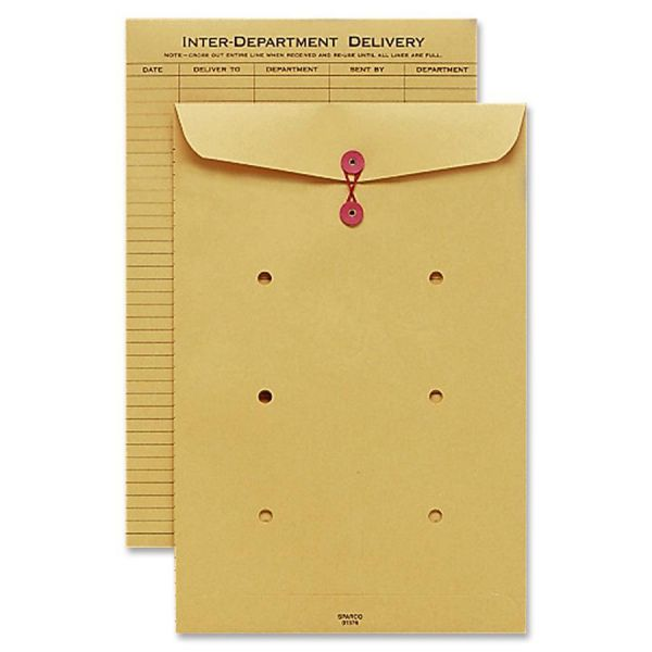 Sparco String & Button Close Inter-Dept.Envelopes