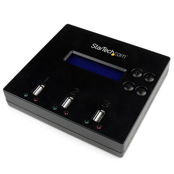 StarTech.com 1:2 Standalone USB 2.0 Flash Drive Duplicator and Eraser - Flash Drive Copier