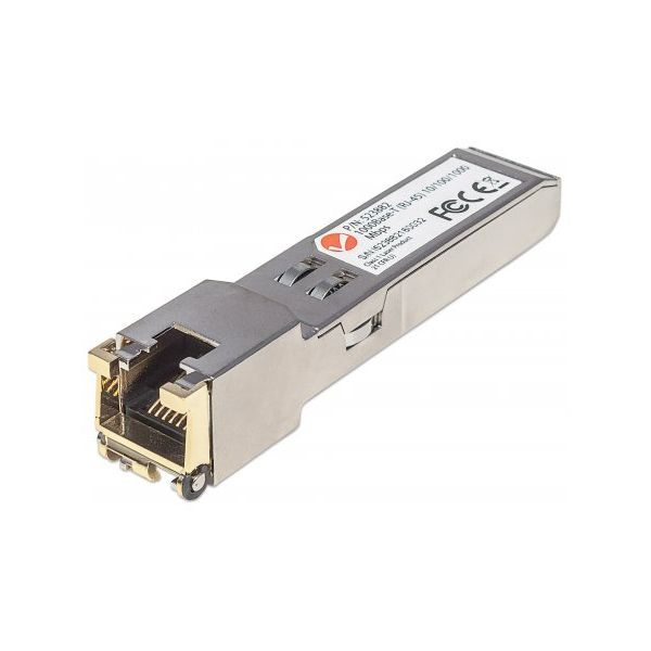 Intellinet Gigabit RJ45 Copper SFP Transceiver Module