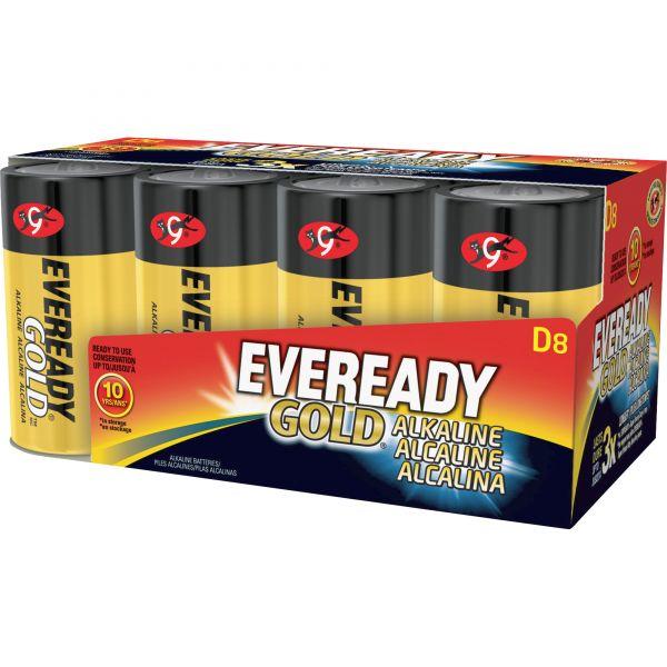 Eveready Gold Alkaline D Batteries