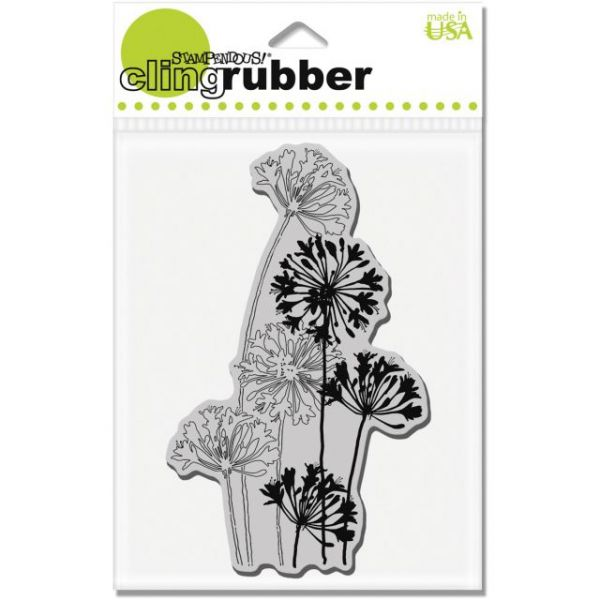 "Stampendous Cling Rubber Stamp 5.5""X4.5"" Sheet"