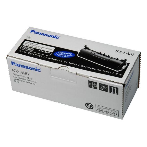 Panasonic KXFA87 Black Toner Cartridge