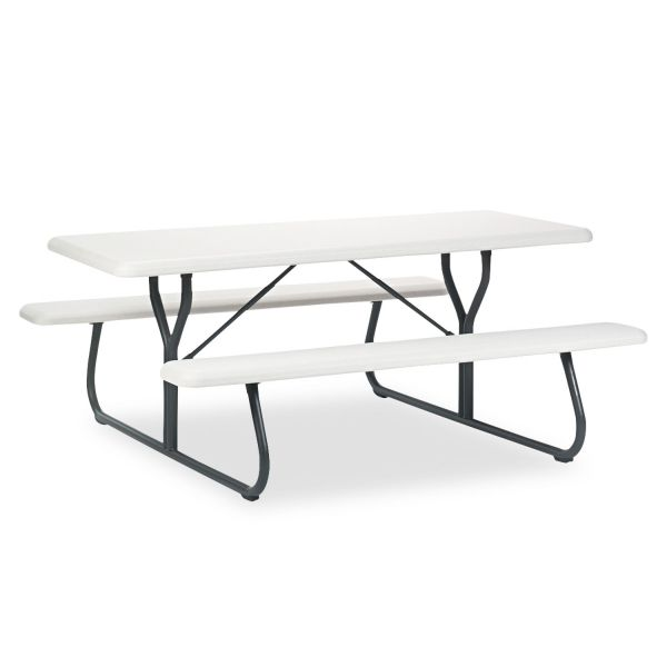 Iceberg Indestruc-Tables Too Picnic Bench Table