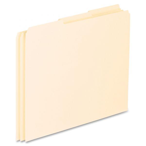 Pendaflex Blank Tab Manila File Guides