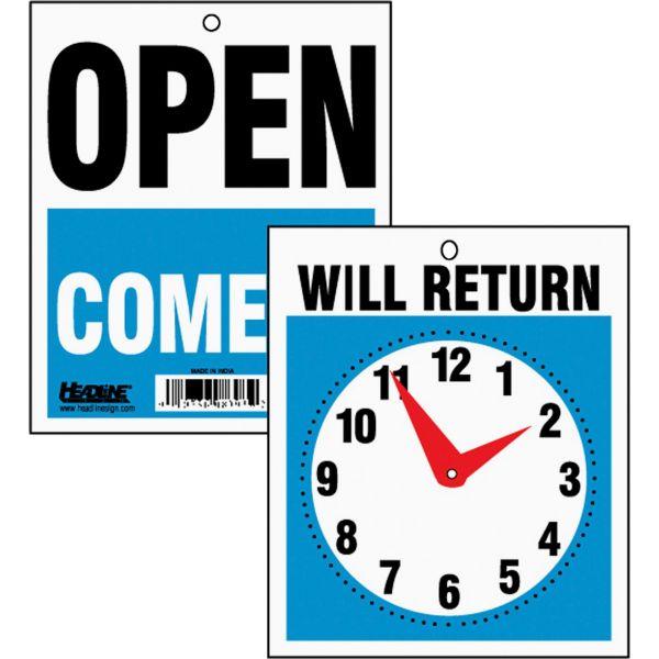 HeadLine Will Return Clock Hands Signs