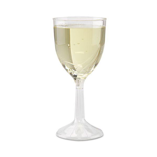 WNA Classicware One-Piece 6 oz Wine Glasses