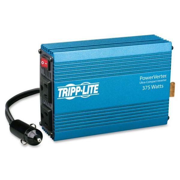 Tripp Lite PowerVerter 375-Watt Ultra-Compact Inverter