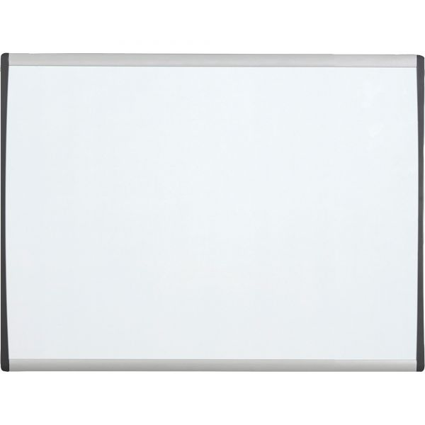 "Quartet 14"" x 11"" Arc Magnetic Painted Steel Cubicle Dry Erase Whiteboard"