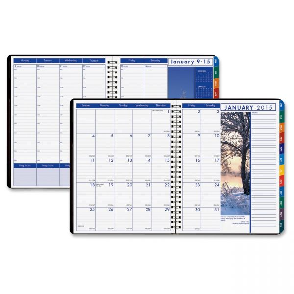 House of Doolittle Earthscapes Weekly/Monthly Appointment Book