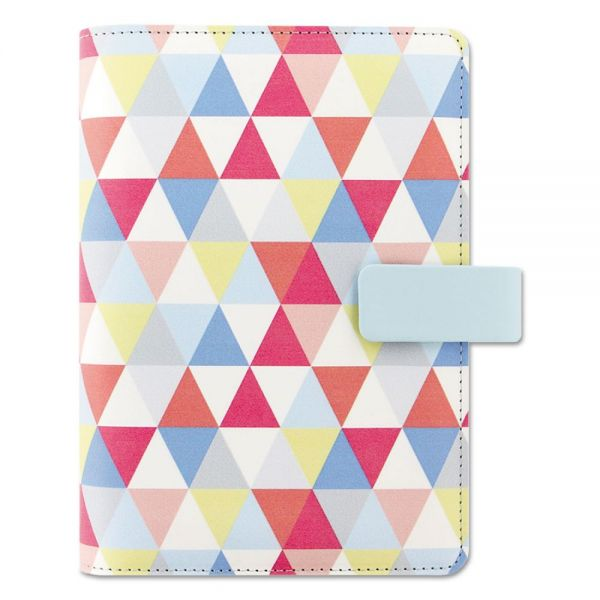 Filofax Fashion Organizer, Geometric Design, 6 3/4 x 3 3/4, 2018