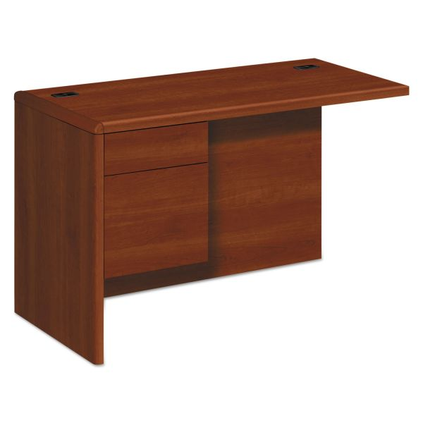 "HON 10700 Series Left Return | 1 Box / 1 File Drawer | 48""W"