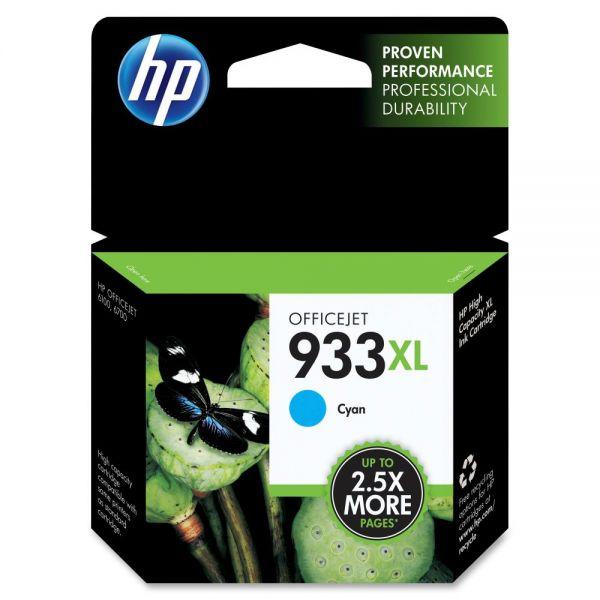 HP 933XL High Yield Cyan Ink Cartridge (CN054AN)