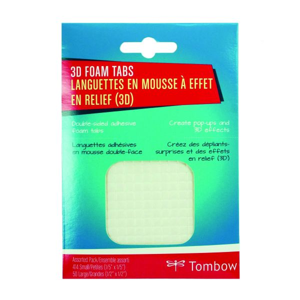 Craft Collection 3D Foam Tabs Assorted Pack