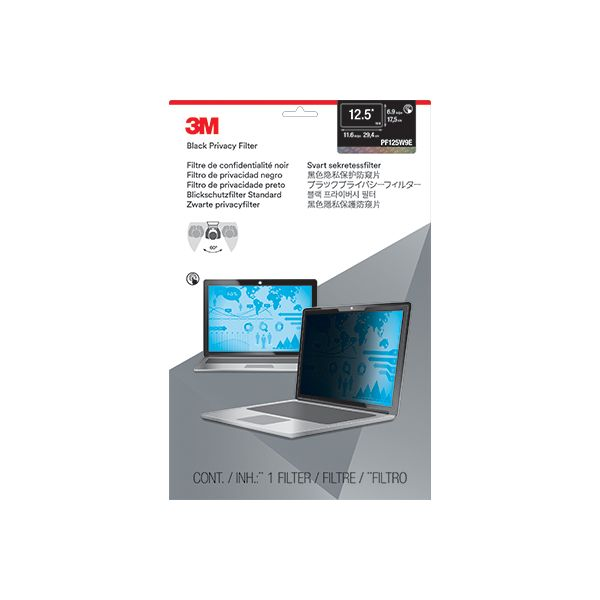 3M Privacy Screen Filter Black