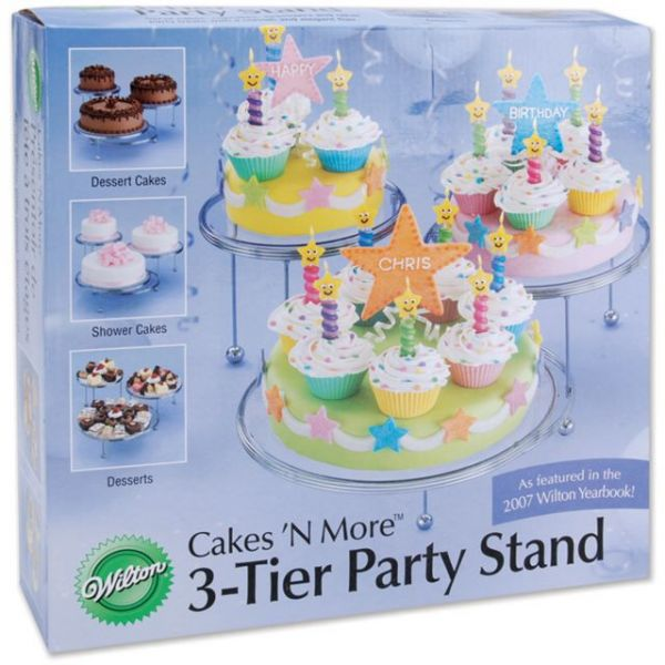 Cakes 'N More 3 Tier Party Stand