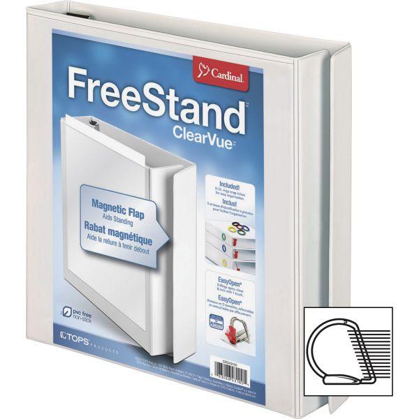 """Cardinal FreeStand 1"""" 3-Ring View Binder"""