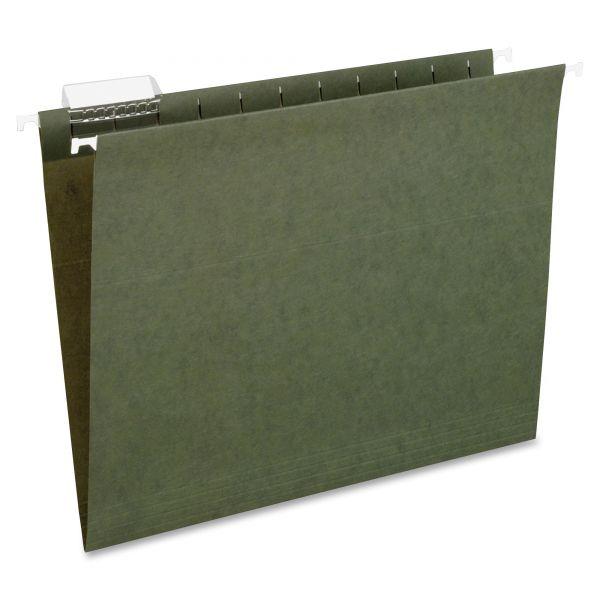 Pendaflex Standard Green Hanging Folders, 1/5 Tab, Letter, 25/Box