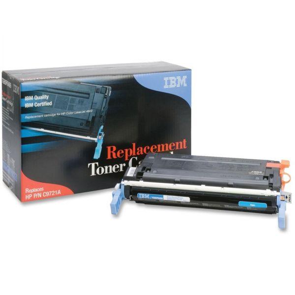 IBM Remanufactured HP C9721A Cyan Toner Cartridge