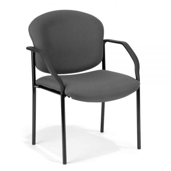 OFM Manor Series Guest/Reception Chair with Arms