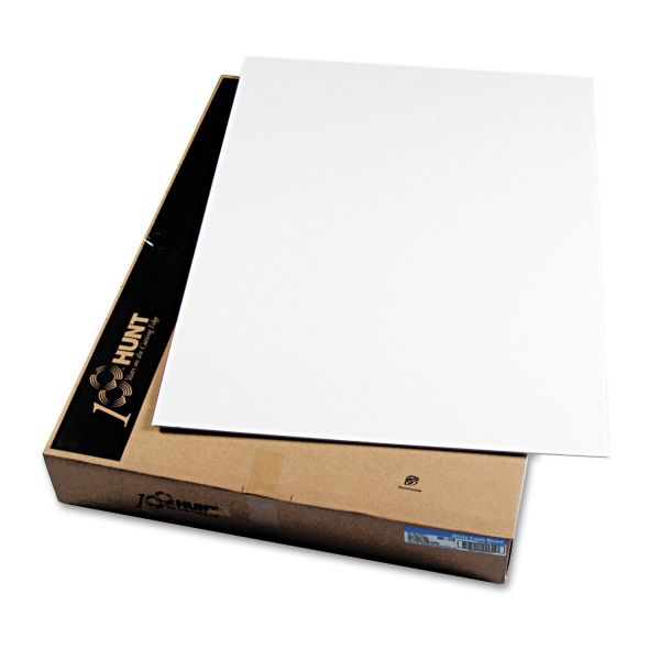 Elmer's CFC-Free Polystyrene Foam Board, 40 x 30, White Surface and Core, 25 per Carton