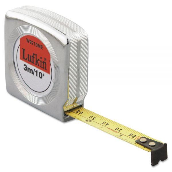 Lufkin Mezurall Measuring Tape, 1/2in x 10ft