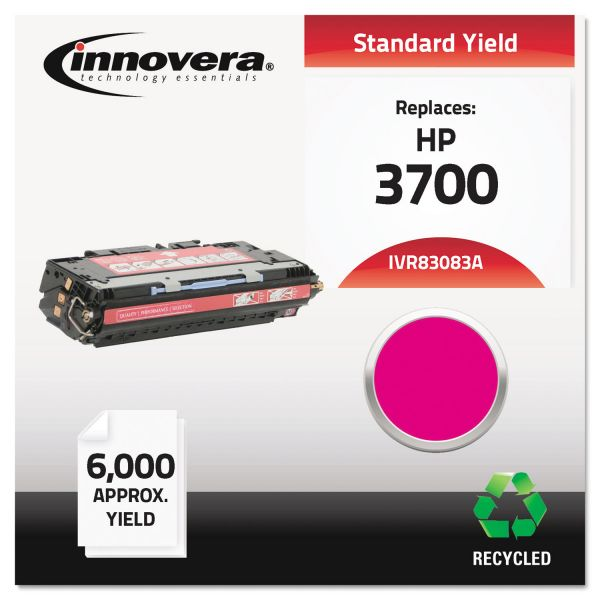 Innovera 83083A (Q2683A) Remanufactured Toner Cartridge, 4000 Page-Yield, Magenta