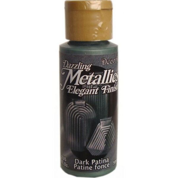 Deco Art Dark Patina Dazzling Metallics Elegant Finish Acrylic Paint