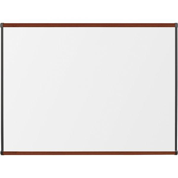 "Lorell 48"" x 36"" Superior Surface High-Pressure Laminate Dry Erase Whiteboard"