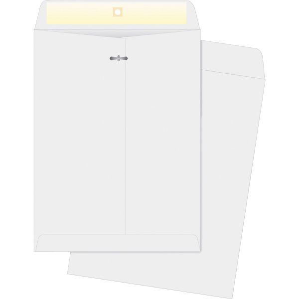 "Business Source Gummed 9"" x 12"" Clasp Envelopes"