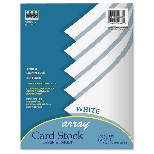 Pacon Array Printable White Card Stock