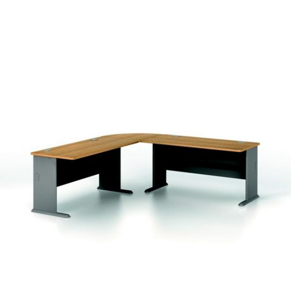 bbf Series A Administrative Configuration - Light Oak finish by Bush Furniture