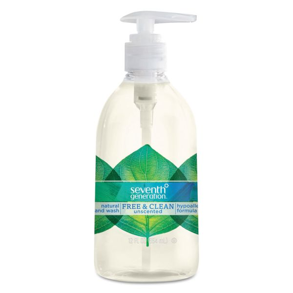 Seventh Generation Natural Free & Clean Hand Soap