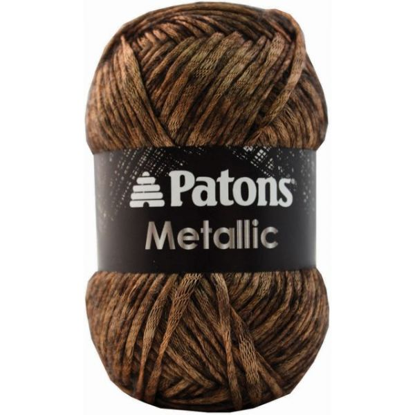 Patons Metallic Yarn - Gold