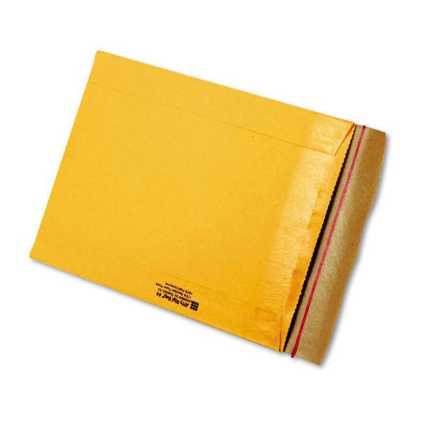 Sealed Air Jiffy Rigi Bag Mailer, #4, 9 1/2 x 13, Natural Kraft, 200/Carton