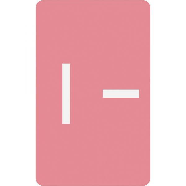 Smead AlphaZ ACCS Color-Coded Alphabetic Label - I