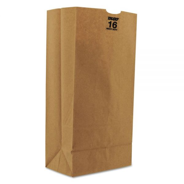 General 16# Heavy-Duty Brown Paper Grocery Bags