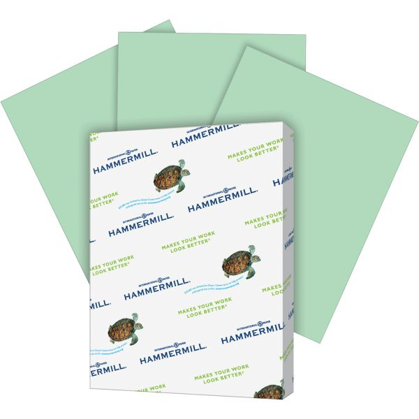 Hammermill Super-Premium Colored Paper - Green