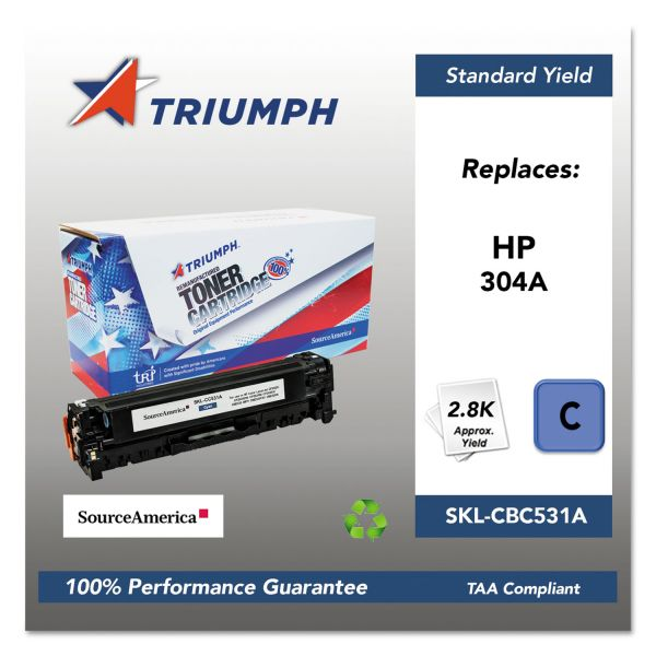 SKILCRAFT Remanufactured HP 304A Toner Cartridge