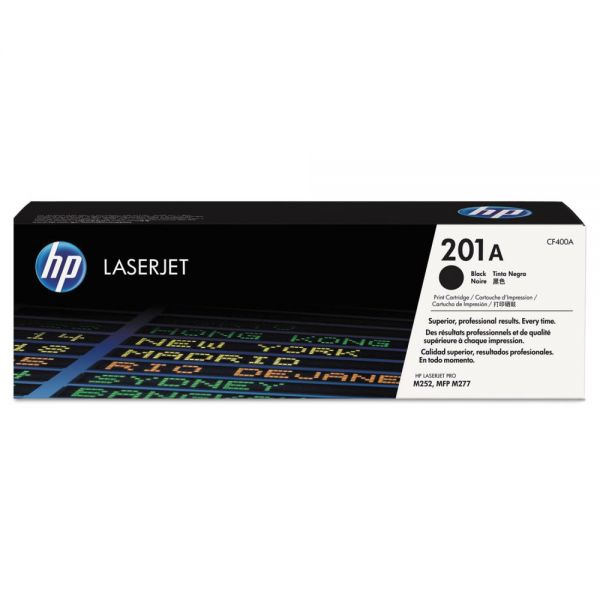 HP 201A Black Toner Cartridge (CF400A)