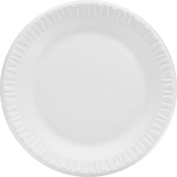 "Dart Non-Laminated 7"" Foam Plates"