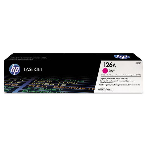 HP 126A, (CE313A) Magenta Original LaserJet Toner Cartridge