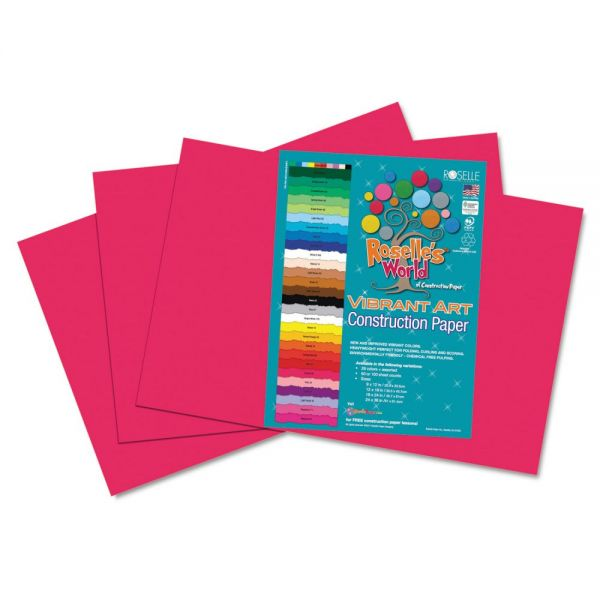 Roselle Heavyweight Construction Paper