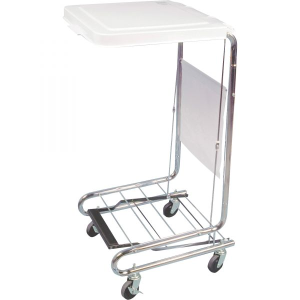 Hausmann 2189 Mobile Hamper Cart