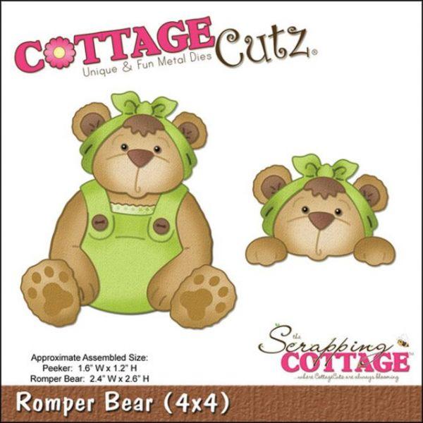 CottageCutz Romper Bear Dies
