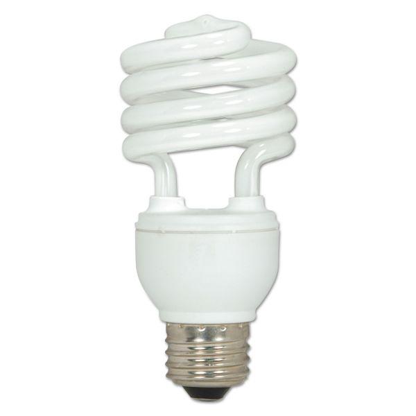 Satco 18-watt T2 Spiral CFL Bulb 3-pack