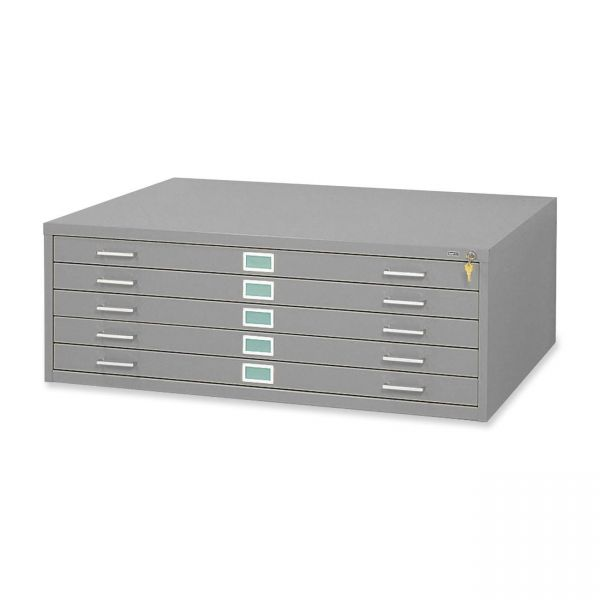 Safco 5 Drawers Steel Flat File & Base